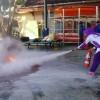 Simulasi Bencana Kebakaran Bersama BPBD